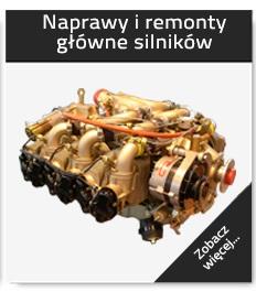 Naprawy i remonty główne silników